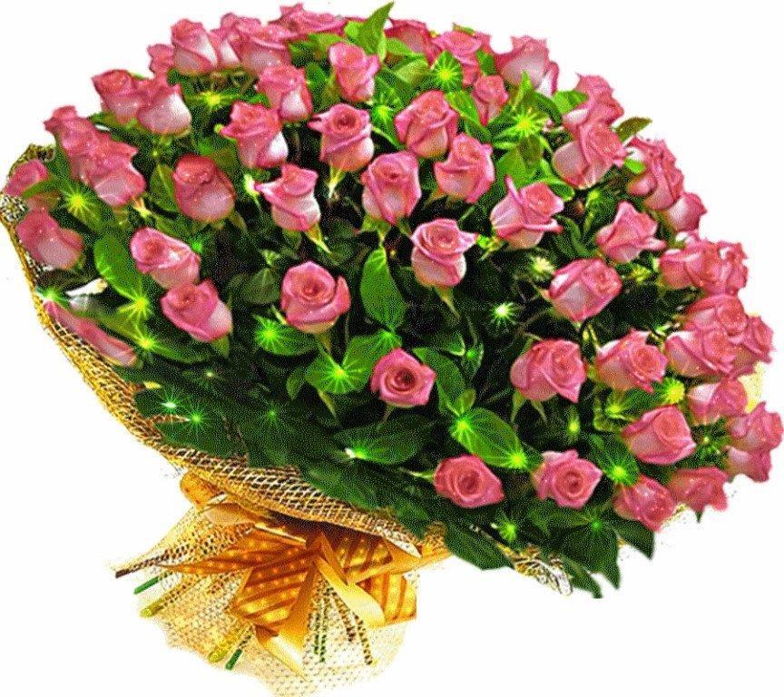 Картинка красивые букеты цветов с пожеланиями