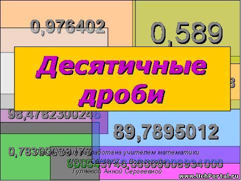 видео уроки по математике 5 класс дроби