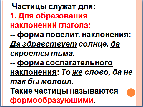 Презентация к уроку русского языка