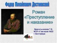 Презентация Двойники и антиподы Раскольникова