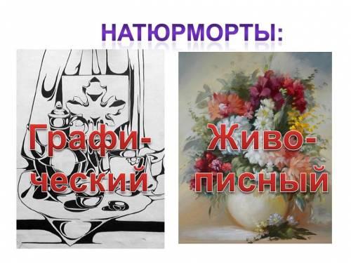 презентация изо натюрморт: