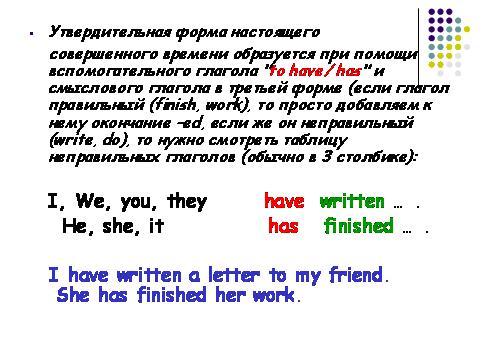 урока по английскому языку