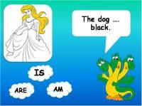 """Тренажер к уроку английского языка """"Глагол to be"""""""