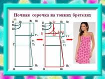 Моделирование ночной сорочки