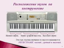 Знакомство с музыкальной грамотой