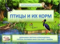Птицы и их корм