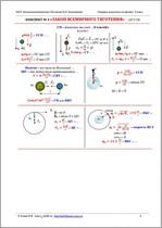 Опорные конспекты к учебнику Физика 9