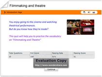 Мультимедийный тест по английскому языку