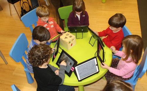 Планшет в детском саду