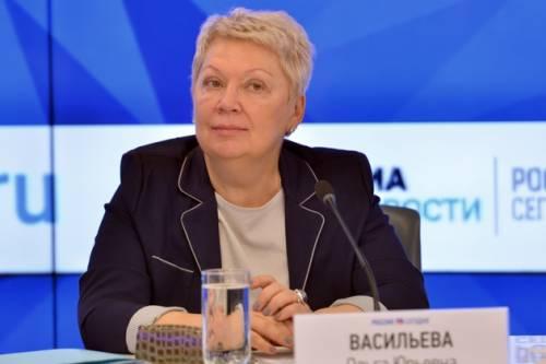 Ольга Васильева рассказала о планах повысить объективность аттестатов за 9 класс