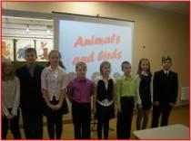 Открытое внеурочное мероприятие по английскому языку по теме: «Животные и птицы»