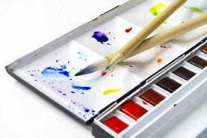 Композиция урока изобразительного искусства